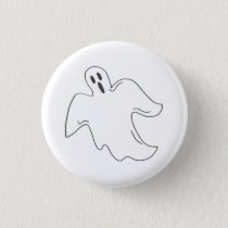 Halloween Ghost Spooky Haunted House Boo Button