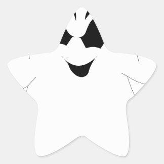 Halloween Ghost Star Sticker