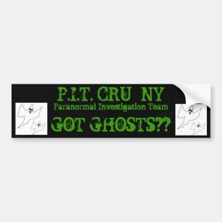 halloween-ghost-template, halloween-ghost-templ... bumper sticker