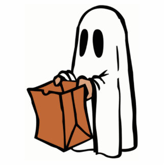 Halloween Ghost Trick-or-Treat Photo Sculptures