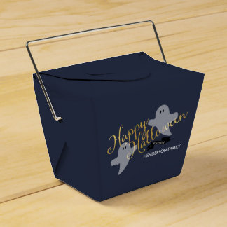 Halloween Ghosties Take out box Favor Box