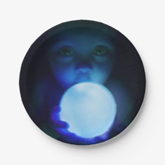Halloween Ghostly Baby Plate