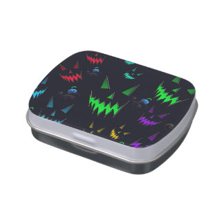 Halloween Ghostly Jack O' Lanterns Jelly Belly Tins