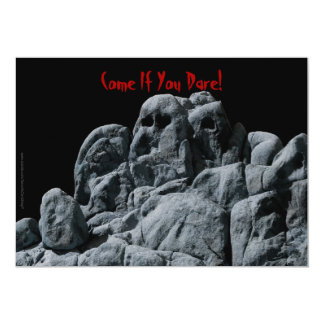 Halloween Ghostly Rocks Invitation