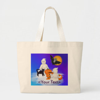 Halloween Ghosts and Friends Tote Bag