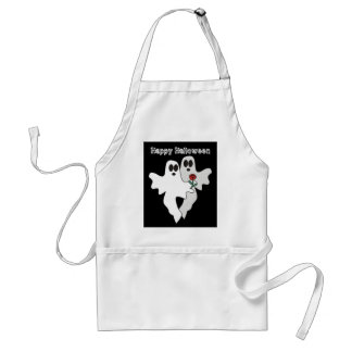 Halloween Ghosts Apron