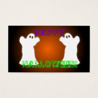 Halloween Ghosts Business Card