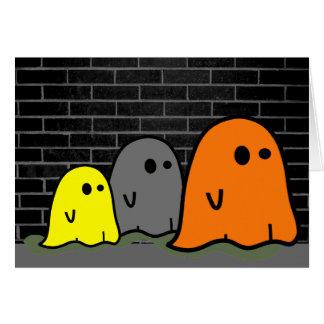 Halloween Ghosts Cute Card