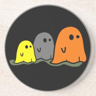Halloween Ghosts Cute Coaster