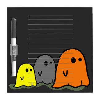 Halloween Ghosts Cute Dry Erase Board