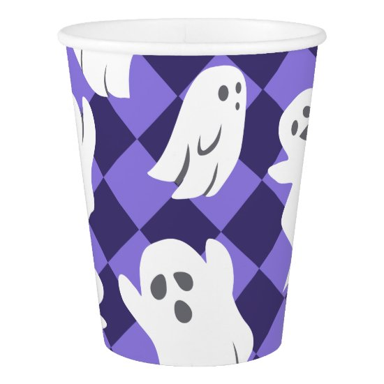 Halloween Ghosts Paper Cup