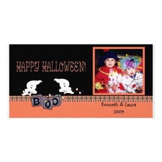 Halloween Ghosts Photo Card