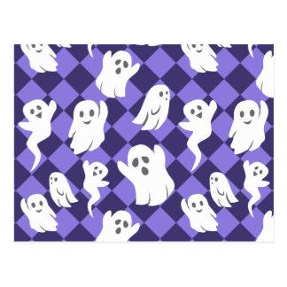 Halloween Ghosts Postcard