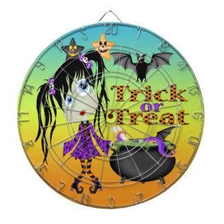 Halloween Ghoul Girl Dart Board