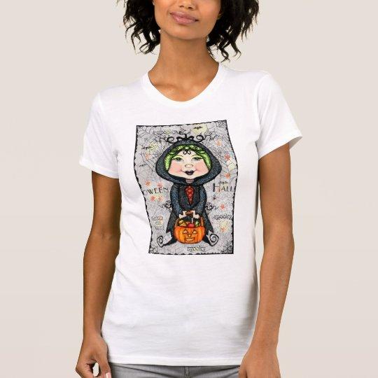 Halloween Ghoul Girl Long Sleeve T-Shirt