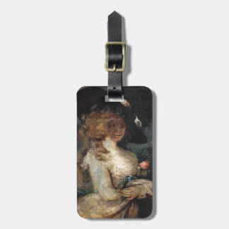 HaLLOwEEN GHoUL PoRTRAiT Luggage Tag