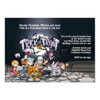 Halloween Ghouls Invitation