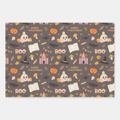 Halloween Gift Wrapping Paper