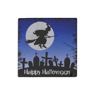 Halloween Stone Magnet