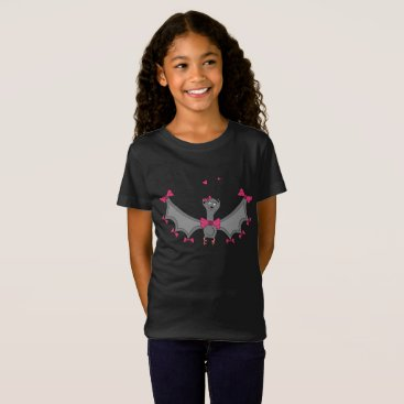 Halloween Themed Halloween - Girl Bat T-Shirt