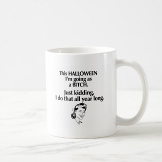 halloween girl coffee mug