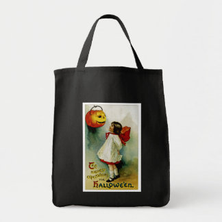 Halloween Girl Tote Bag