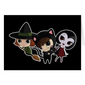 Halloween Girls Card