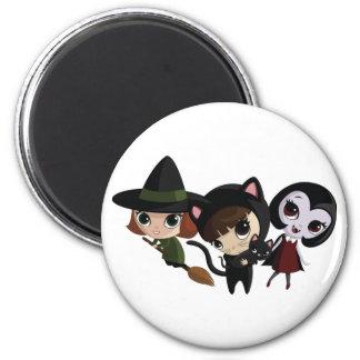 Halloween Girls Magnet