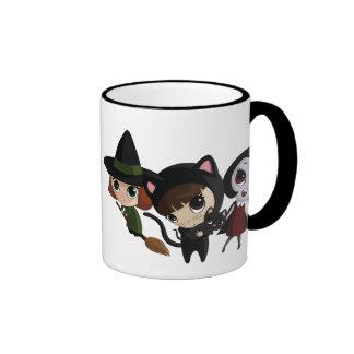 Halloween Girls Ringer Mug