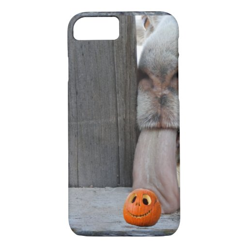 Halloween Goat and Pumpkin iPhone 8/7 Case