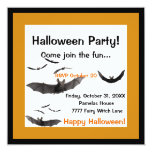Halloween golpea la invitación