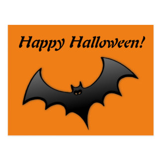 Halloween Gone Batty Postcard