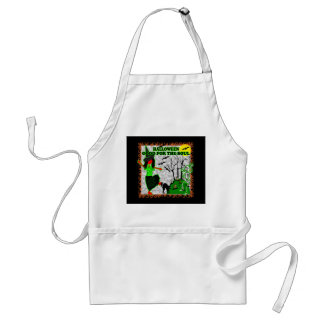 Halloween Good For The Soul Adult Apron