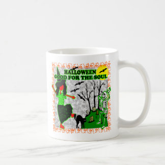 Halloween Good For The Soul Coffee Mugs