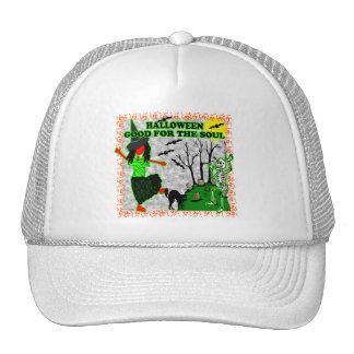 Halloween Good For The Soul Trucker Hat