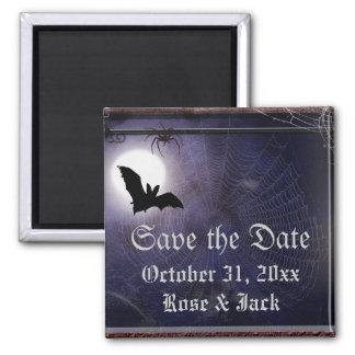 Halloween / Gothic full moon bat Template Fridge Magnets