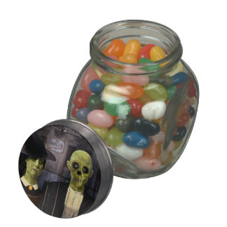 Halloween gótico americano frascos de cristal