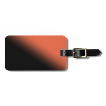 Halloween Gradient Luggage Tag