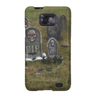 Halloween Grave Yard with Tombstones Galaxy SII Covers