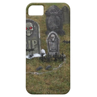 Halloween Grave Yard with Tombstones iPhone 5 Covers