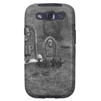 Halloween Grave Yard with Tombstones Samsung Galaxy S3 Case