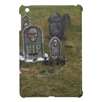 Halloween Grave Yard with Tombstones iPad Mini Cover