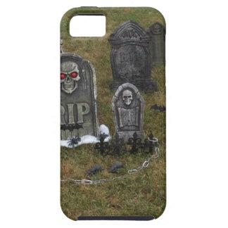 Halloween Grave Yard with Tombstones iPhone 5 Case