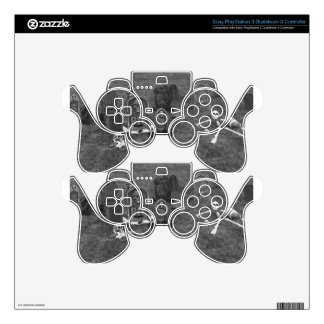 Halloween Grave Yard with Tombstones Decal For PS3 Controller