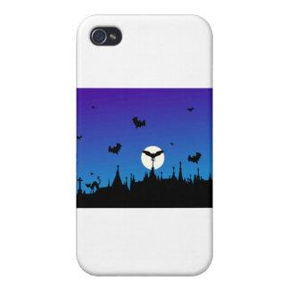halloween-graveyard cases for iPhone 4