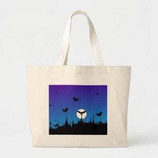 Halloween Graveyard Novelties Jumbo Tote Bag
