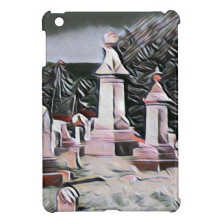 Halloween Graveyard RIP Party Supplies iPad Mini Cases