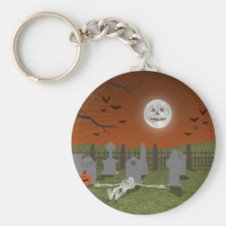 Halloween: Graveyard Scene: Key Chains