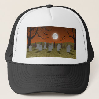 Halloween: Graveyard Scene: Trucker Hat