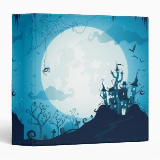 Halloween graveyard scenes haunted ghost house binder
